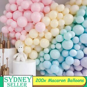 200pcs 12cm Macaron Pastel Colour Latex Balloons Weddings Birthday Party Balloon