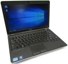 """Dell Latitude E6230 12.5"""" Core i7-3540M 3.0GHz 500GB 8GB Webcam Windows 10"""
