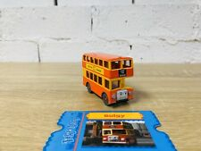 Bulgy The Bus & Collectors Card - Thomas Take N Play/Take Along Die Cast Trains