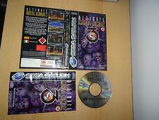 Ultimate Mortal Kombat 3 Sega Saturn-Reino Unido PAL-Free UK Post