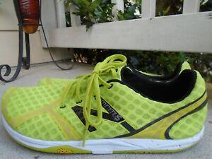 Mens New Balance Minimus lime barefoot running shoes sz 13D