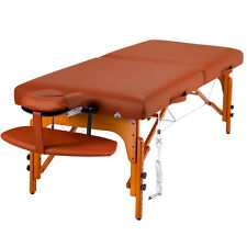 """Master Massage 31"""" Inch Santana Therma Top Portable Table Package Mountain Red"""