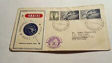 Inaugural Flight Australia Quanta 1958 Two Covers