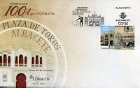 Spain 2017 FDC Plaza de Toros de Albacete 1v Cover Tourism Architecture Stamps