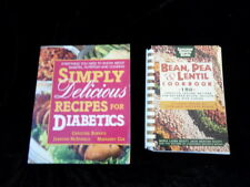Two cookbooks- Beans, Peas and Lentikls Cookbook & Simply Delicious for Diabetic