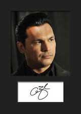 ADAM BEACH #2 A5 Signed Mounted Photo Print - FREE DELIVERY