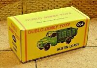 DUBLO DINKY NO.067 AUSTIN TAXI CUSTOMISED DISPLAY//STORAGE REPLACEMENT BOX ONLY