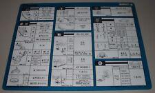 Inspektionsblatt Toyota Cressida RX 70 / MX 73 / GX 71 Service Blatt 08/1984!