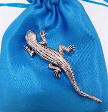 Pewter Lizard (Gecko) Pin Badge