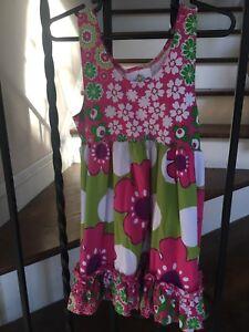 Cute! Toddler Girl's Size 2T Corky's Kids Sundress Sleeveless Flowers NWTS!
