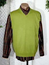 JUPITER Herren Pullunder Strick Pullover Gr. 50  modisches Grün Baumwolle
