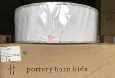NEW Pottery Barn Kids Harper Linen Drum Pendant GRAY