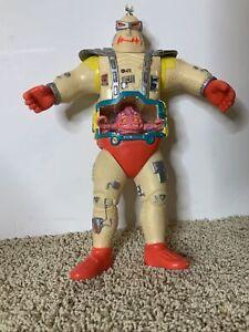 "Krangs Android Body 11"" Vintage TMNT Figure Playmates 1991, Missing Belly Window"