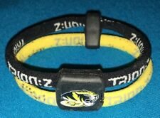 Yellow & Black Dual Magnetic Trion:z Colantotte Ionic 6 Inch small bracelet NR