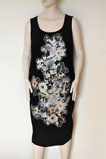 MARINA RINALDI by MAX MARA, Black Dress, Size MR 31, 22W US, 52 DE, 60 IT