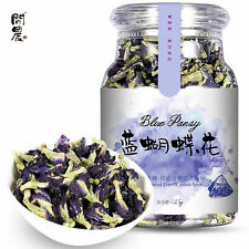 100% Thai Dried Butterfly Pea Tea Flower Pure Organic Natural Blue Drink