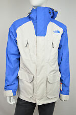 7093 THE NORTH FACE NWT IVORY & BLUE CLETCH TRICLIMATE HYVENT JACKET SZ M $285
