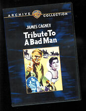 Tribute To a Bad Man (DVD) James Cagney Irene Papas disc Vf-Nm/ box VG