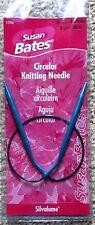Susan Bates Silvalume 16 inch Circular Knitting Needles sz 8 (5mm)