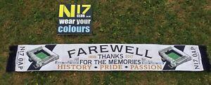 New Tottenham Fans Thanks For The Memories Farewell Scarf White