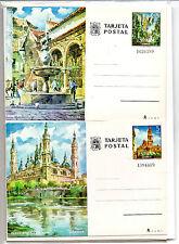 España Monumentos Enteros Postales del año 1973 (BU-468)