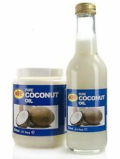 KTC 100% Pure Coconut Oil for Hair & Skin Care,Cooking- Multipurpose 500ml,250ml