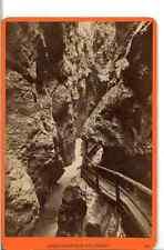 Würthle et Spinnhirn, Liechtenstein Klammen Vintage silver print.  Tirage albu
