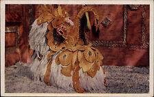 INDONESIEN Vintage Postcard Barong Java Bali um 1940 Barong ketet Asien Natives