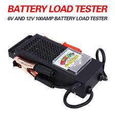 New Battery Load Tester 100 Amp Load Type 6V & 12V Mechanics 6/12 Volt Car Truck