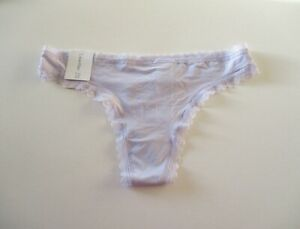 Calvin Klein Radiant Lace Thong QD3705   S, M, L, XL MSRP $15.00 NWT
