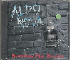 "ALDO NOVA - RARO CD 1991 "" BLOOD ON THE BRICKS "" JOHN BON JOVI"