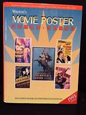 Warren's Movie Poster Price Guide by Jon R. Warren (1992, Hardcover)