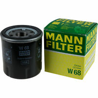 Original MANN-FILTER Ölfilter Oelfilter W 68 Oil Filter