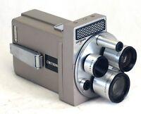 ARGUS M3 Cinetronic Vintage Film Movie Camera TURRET lens USA