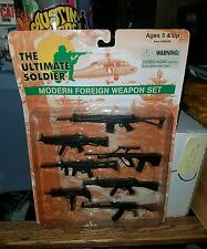 """The Ultimate Soldier US Modern Foreign Weapon Set Brand New! 12"""" AK-47"""