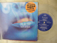 RAIN TASTE OF RAIN / LAUGHING MAN columbia 656981 0 clear vinyl / g/f  new! sing