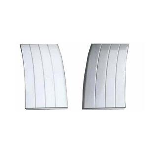 Silver Door Side Fender Vent Grille Molding Fit For Range Rover Vogue L405 13-20