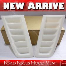 Bonnet Vent Hood Vent FOCUS RS MK2 Style ABS Plastic Universal Ford Unpainted