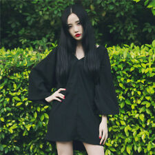 Women's Vintage Japanese Punk Lolita Kimono Skirt Dress Cosplay Dress Gift