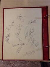 Vintage NHL Boston Bruins 1970s Autographs, Scrapbooks, Pictures, Unique- Orr