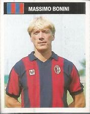 [AA] FIGURINA CAMPIONI & CAMPIONATO 1990/91-BOLOGNA-BONINI
