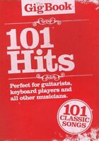 The Gig Book 101 Hits Learn to Play Piano Guitar Lyrics Music Book