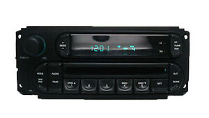 02-09 DODGE Caravan Dakota Ram CHRYSLER Town and Country Radio CD Player RBK OEM