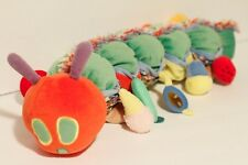 """Eric Carle 18"""" Small World Toys HUNGRY CATERPILLAR Plush Toy Doll w/ pockets"""