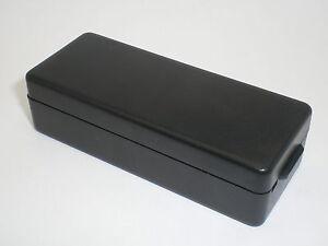 """20x BLACK PLASTIC PROJECT BOX ENCLOSURE CASE 3 1/4"""" x 1 1/4"""" x 7/8"""""""