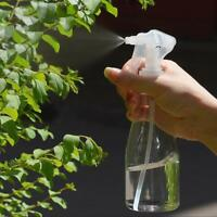 200ml Clear Plastic Cleaning Hand Trigger Spray Bottle Empty Garden Water Gift H