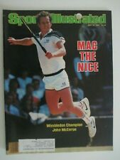 Sports Illustrated 7/16/84 with John McEnroe on the Cover