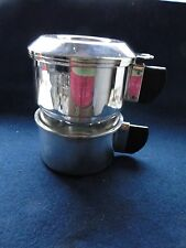 More details for cafetier sterling silver, italian, perculator, art deco, marked and never used