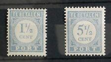 Nederland (4248) - Port NVPH P46 en P52, MNH