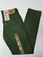 NEW BOYS LEVIS 510 SUPER SKINNY FOREST GREEN JEANS SZ 10,12,14,16,18 NWT